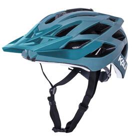 Kali Lunati SLD Helmet, matt green/white